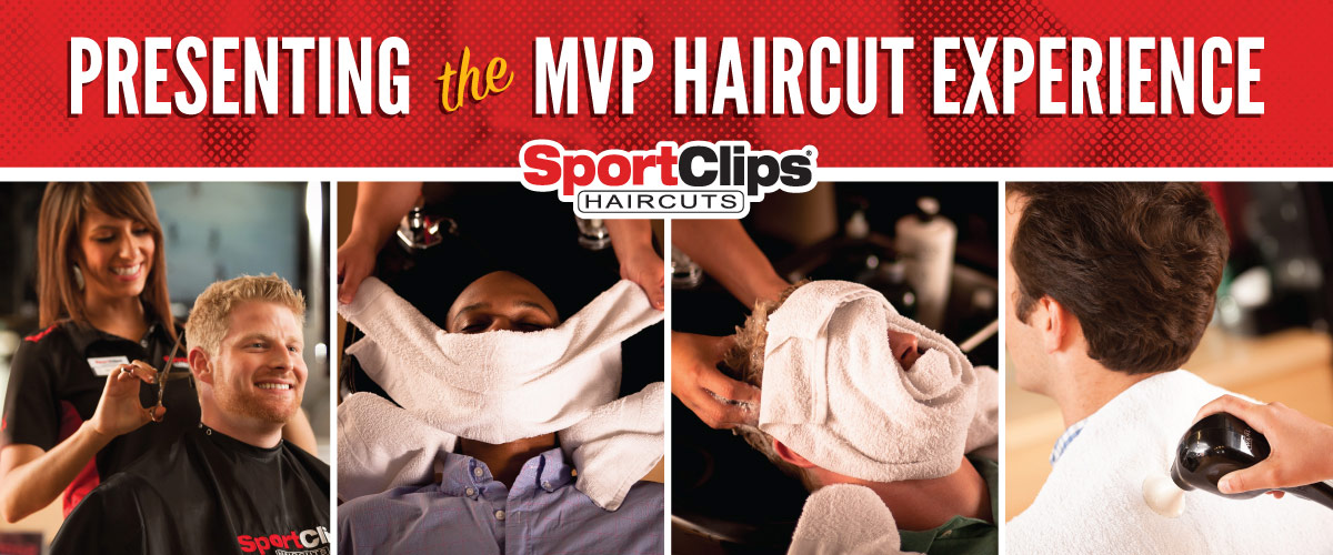 The Sport Clips Haircuts of Copperfield MVP Haircut Experience