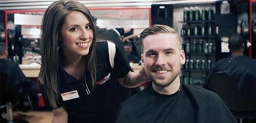 Sport Clips Haircuts of Copperfield​ stylist hair cut